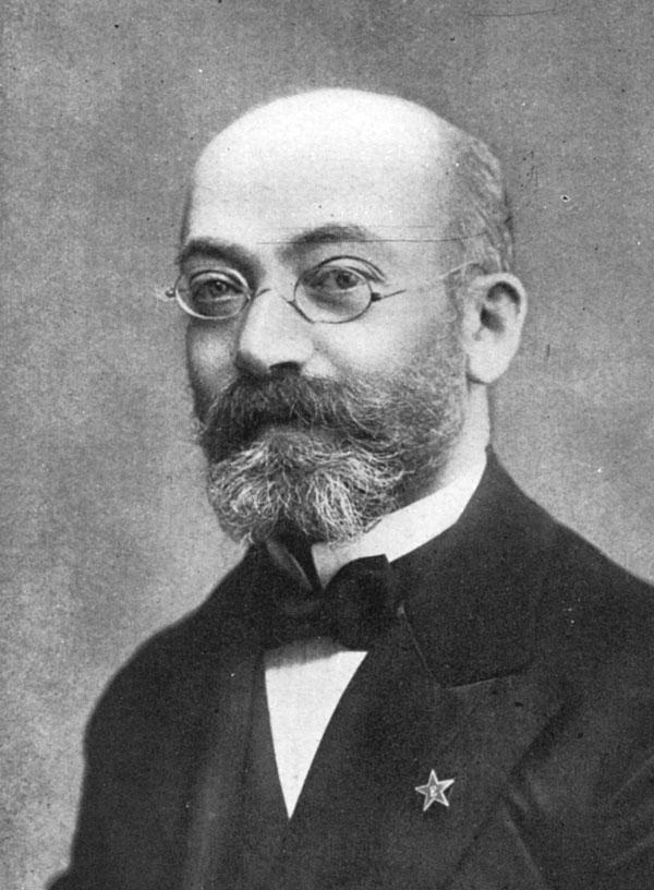 Dr. Zamenhof, creador del esperanto